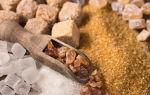 Чем отличается коричневый сахар от белого