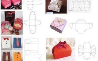 Как сделать коробку для подарка?