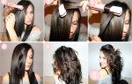 Как сделать волнистые волосы утюжком?