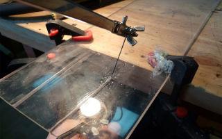 Как резать оргстекло?