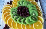 Как красиво украсить стол фруктами?