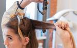 Как выпрямить волосы плойкой?