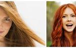 Как закрасить рыжий цвет волос?